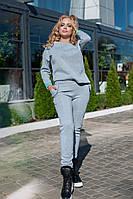 Женский утепленный спортивный костюм / трехнитка с начесом / Украина 40-02250, фото 1