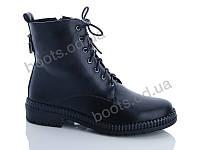 """Ботинки зимние женские """"Lino Marano"""" #F128M. р-р 36-40. Цвет черный. Оптом, фото 1"""