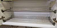 Кухоний посудосушитель Т3 GIFF Нержавіюча сталь (2 полиці, 2 піддона, 4 кріплення)