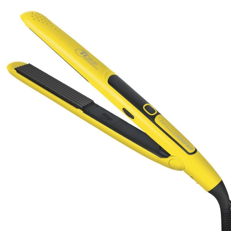 Гофре для волос TICO Professional Volume Crimper Yellow с керамическим покрытием, 100225