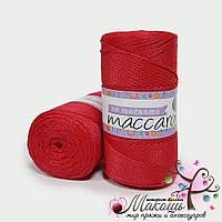 Пряжа Maccaroni PP Макраме, 331, красный