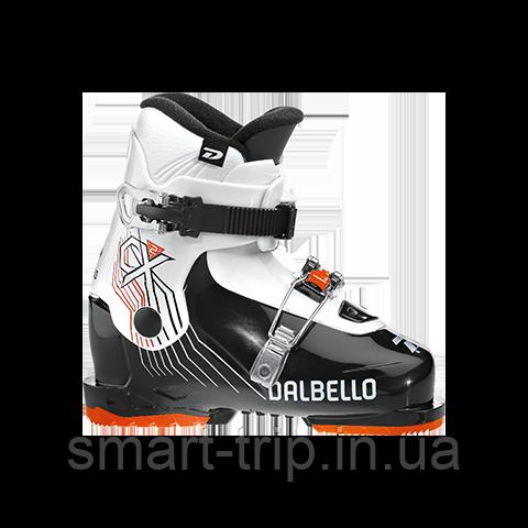 Ботинки лыжные Dalbello CX 2.0 kids 2020 Black/White  (DCX2J7.BW.225)