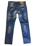 Мужские джинсы Takeshy 9006 синие, фото 2