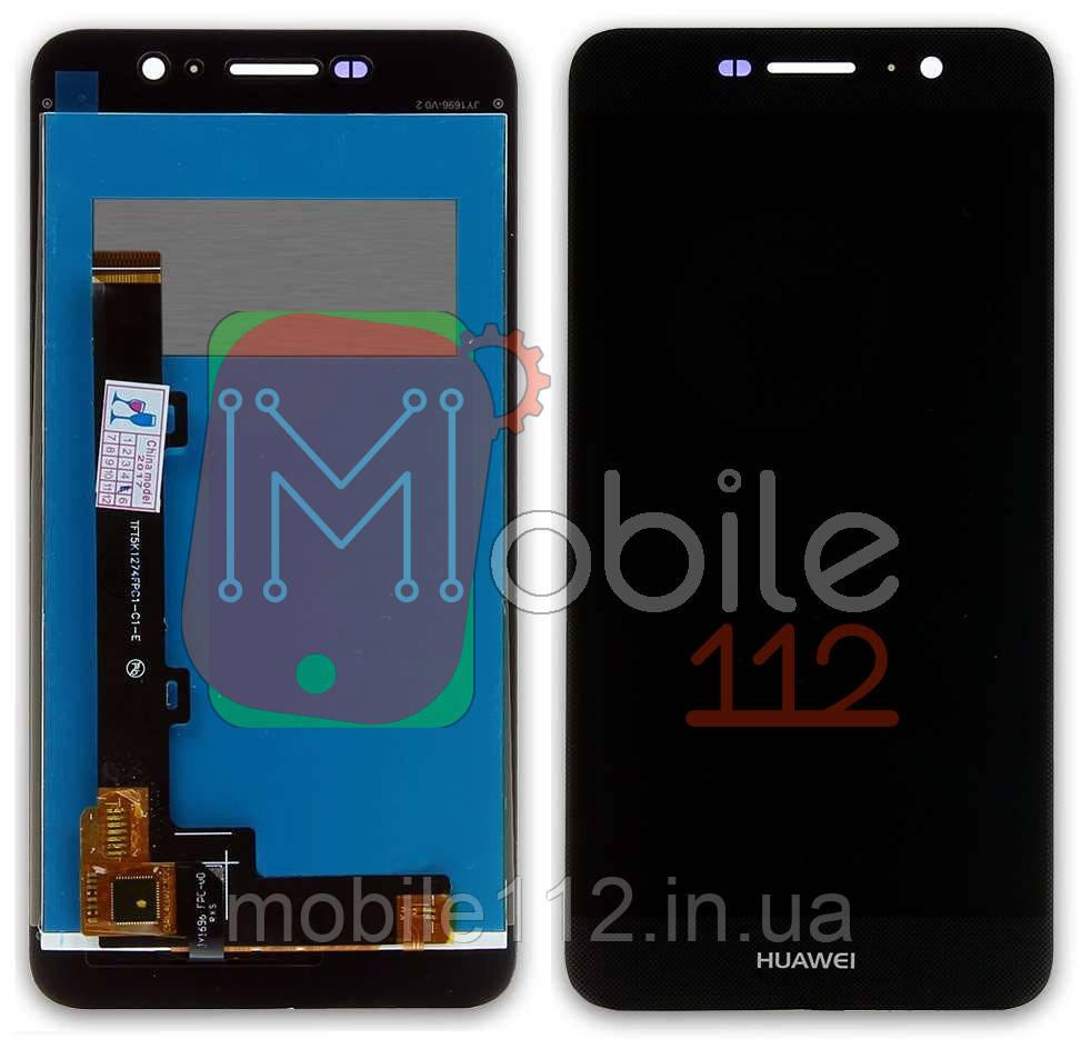 Дисплей модульный Huawei Y6 Pro, Enjoy 5 TIT-U02 экран + тачскрин чёрный, оригинал PRC