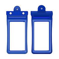 Водонепроницаемая сумка Finval для смартфона плавающая синяя, фото 1