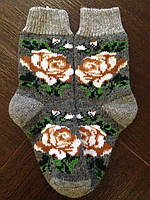 Носки из натуральной шерсти