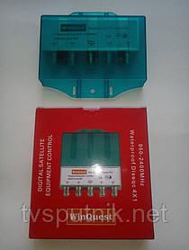 Коммутатор DiSEqC 4x1 WinQuest в кожухе