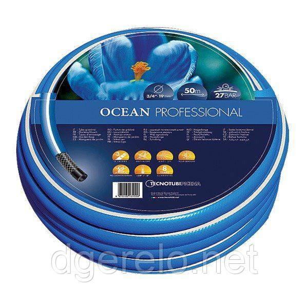 Шланг садовый Tecnotubi Ocean для полива диаметр 5/8 дюйма, длина 50 м (OC 5/8 50)