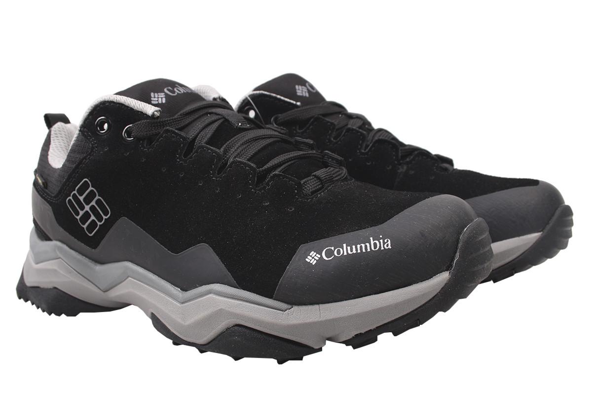 Кроссовки мужские Columbia нубук, цвет черный, размер 40-45