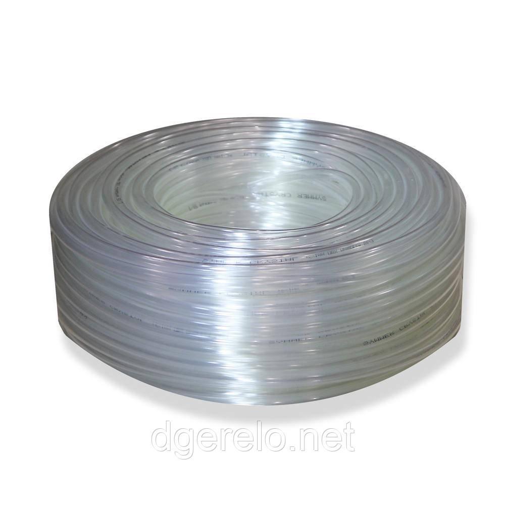 Шланг пвх пищевой Presto-PS Сrystal Tube диаметр 4 мм, длина 200 м (PVH 4 PS)