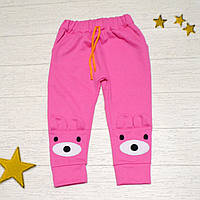 Штани спортивні для дівчаток р.74 / Спортивные штаны для детей 9 мес.