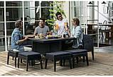 Набор садовой мебели Columbia Dining Set 9 Pcs из искусственного ротанга ( Allibert by Keter ), фото 2