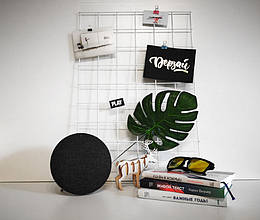 Настенный органайзер Мудборд доска визуализации и планирования, Прямоугольная 30*60 см, белая (124095)