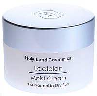 Увлажняющий крем для сухой кожи Holy Land Lactolan Moist Cream for Dry Skin 250мл