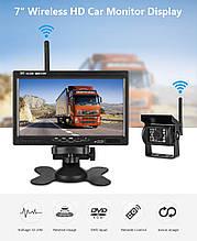 Система парковки для грузовика PODOFO K0081 (Беспроводной Монитор 7 дюймов + 1 беспроводная камера 12-24V)