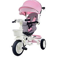Детский трехколесный велосипед Bonbon розовый