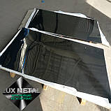 Нержавіючий лист 1,0 (1,25х2,5) 4N+PVC AISI 430(12Х17) шліфований в плівці технічний, фото 4