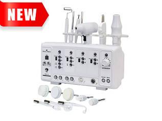 Косметологический аппарат 5 в 1 (дарсонваль, броссаж, гальваника, скрабер, уз-форез) мод.115