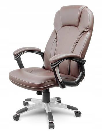 Кожаное офисное кресло Sofotel EG-222 коричневое, фото 2