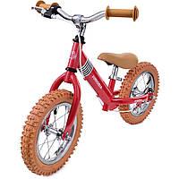 Велосипед беговой Champion II красный шлем