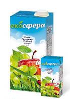 """Соки ТМ """"Экосфера"""" виноградно-яблочный 1л."""