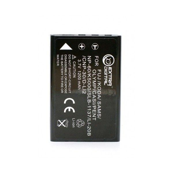 Аккумулятор для фотоаппарата ExtraDigital Casio NP-60