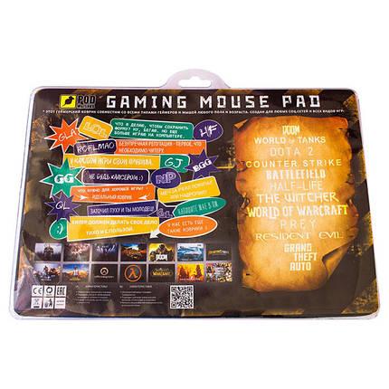 Игровой коврик для мыши Battlefront-М (32 х 22 см), фото 2