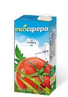 """Соки ТМ """"Экосфера"""" томатный 1л."""