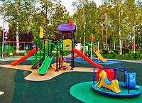 Обустройство детских игровых площадок