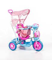 Трехколесный велосипед для детей Пчела,розовая