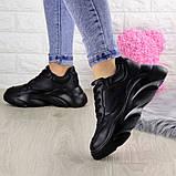 Женские кроссовки Fashion Finist 1307 37 размер 24 см Черный, фото 3