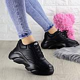 Женские кроссовки Fashion Finist 1307 37 размер 24 см Черный, фото 4