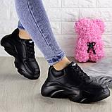 Женские кроссовки Fashion Finist 1307 37 размер 24 см Черный, фото 5