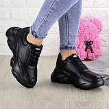 Женские кроссовки Fashion Finist 1307 37 размер 24 см Черный, фото 6