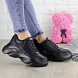 Женские кроссовки Fashion Finist 1307 37 размер 24 см Черный, фото 7