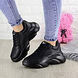 Женские кроссовки Fashion Finist 1307 37 размер 24 см Черный, фото 8