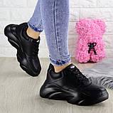 Женские кроссовки Fashion Finist 1307 37 размер 24 см Черный, фото 9