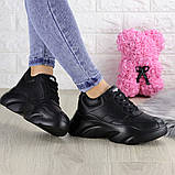 Женские кроссовки Fashion Finist 1307 37 размер 24 см Черный, фото 10
