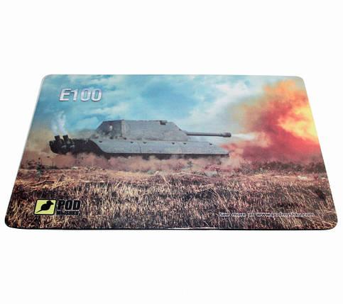 Игровой коврик для мыши Танк E-100-М (32 х 22 см), фото 2