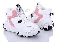 """Ботинки зимние женские """"Loretta"""" #K722-1. р-р 37-41. Цвет белый. Оптом"""