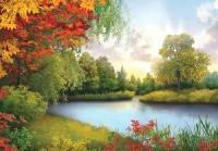Фотообои, Осенний блюз 16 листов, 196х280см