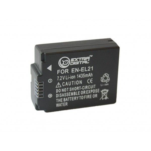 Аккумулятор для фотоаппарата ExtraDigital Nikon EN-EL21