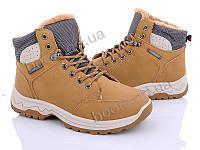 """Ботинки зимние женские """"Love-L&M-ZDW"""" #6906 camel. р-р 36-41. Цвет коричневый. Оптом"""
