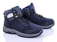 "Ботинки зимние женские ""Love-L&M-ZDW"" #6906 navy. р-р 36-41. Цвет синий. Оптом"