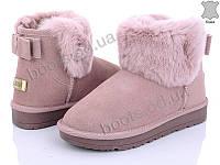 """Угги зимние женские """"Love-L&M-ZDW"""" #1858-2. р-р 36-41. Цвет розовый. Оптом"""