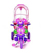 Трехколесный велосипед для детей Пчела,фиолетовая, фото 2