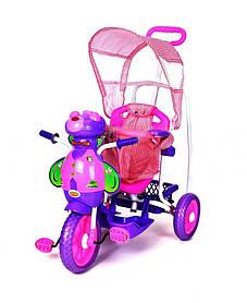 Трехколесный велосипед для детей Пчела,фиолетовая