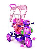 Трехколесный велосипед для детей Пчела,фиолетовая, фото 3