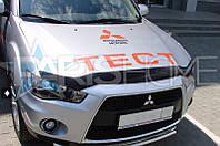 Дефлектор Капота Мухобойка Mitsubishi ASX 2010-2013