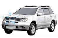 Дефлектор Капота Мухобойка Mitsubishi Outlander 2001-2007